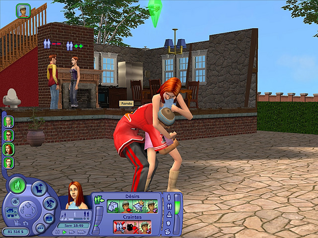 Playing Sims 2 Mac