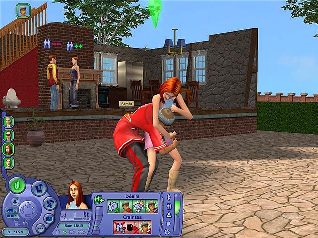 Playing Sims 2 Mac