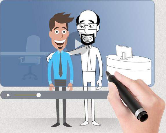 custom animated video